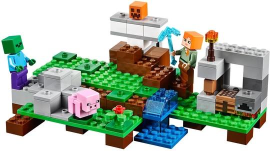 21123 A vasgólem | Lego Minecraft™