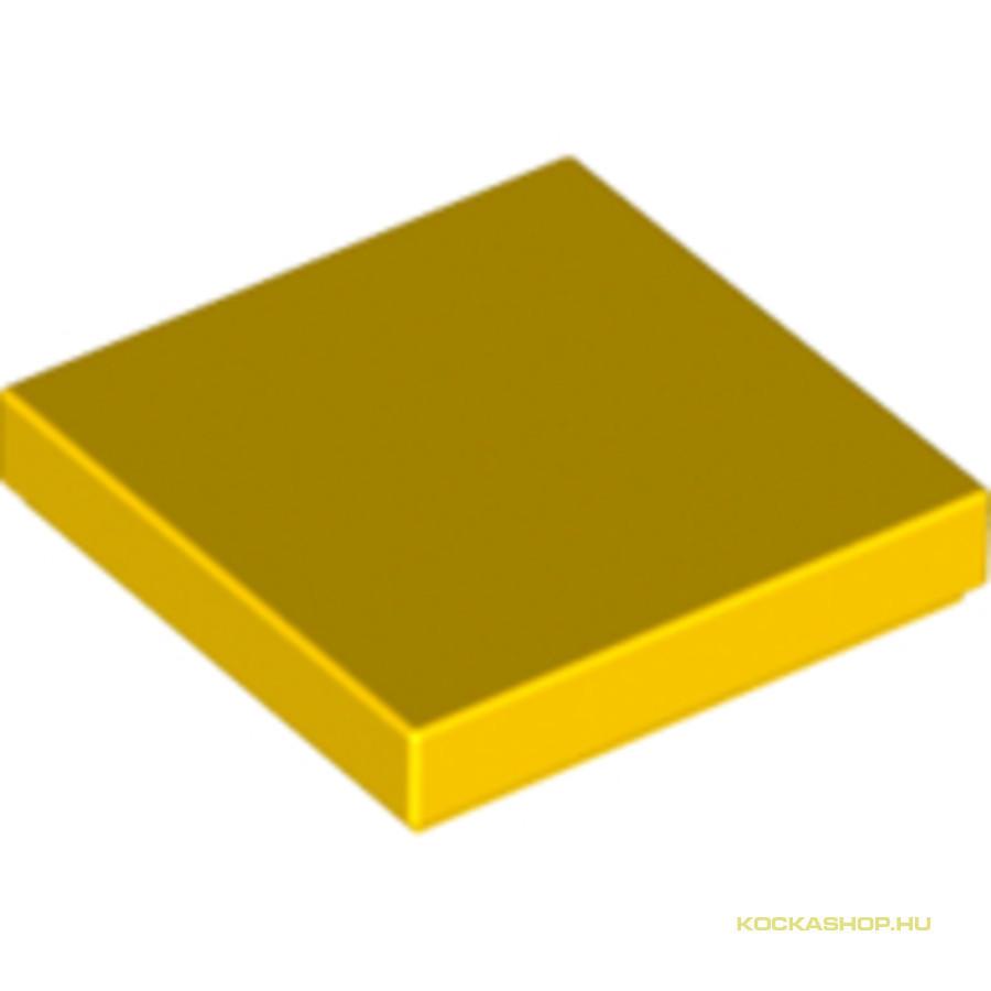 Sárga 2X2 Csempe  Kockashop