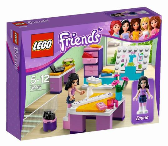 Lego 3936 Emma Tervezőirodája Kockashop
