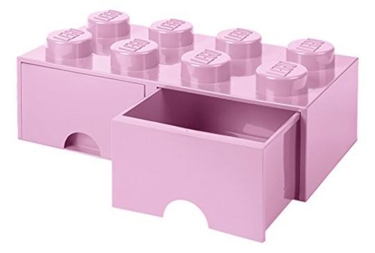 LEGO® 40061738 - Fiókos tároló doboz 4x2 pink  c0da6f2590