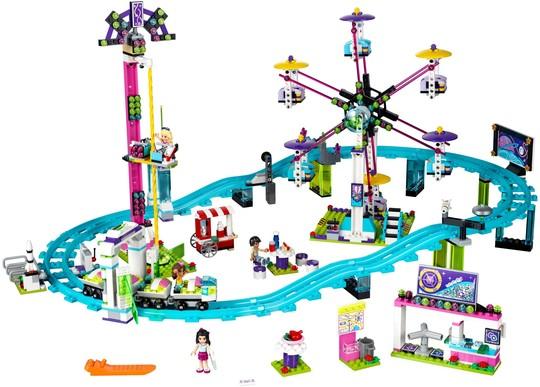 41130 Vidámparki hullámvasút | Lego Friends