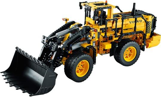42030 Távirányítású VOLVO L350F Markológép   Lego Technic