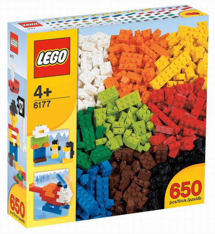 6177 Alapelemek – Deluxe | Lego Elemek és egyebek