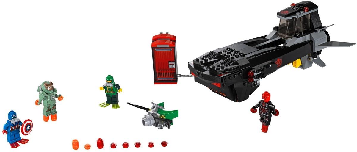 Lego 174 super heroes ac 233 lkoponya tengeralattj 225 r 243 lego 174 76048
