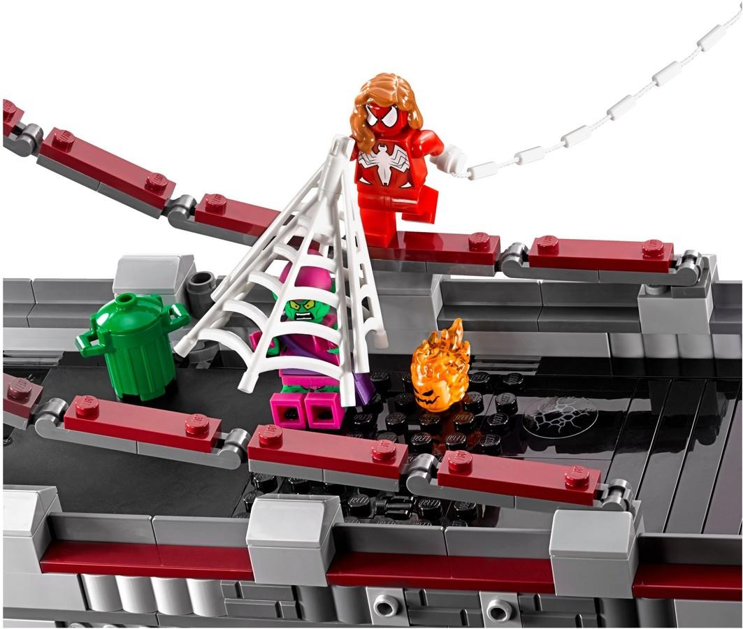 LEGO® Super Heroes Pókember: Pókháló-harcosok utolsó ...