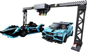 Formula E Panasonic Jaguar Racing GEN2 car & Jaguar I-PACE eTROPHY