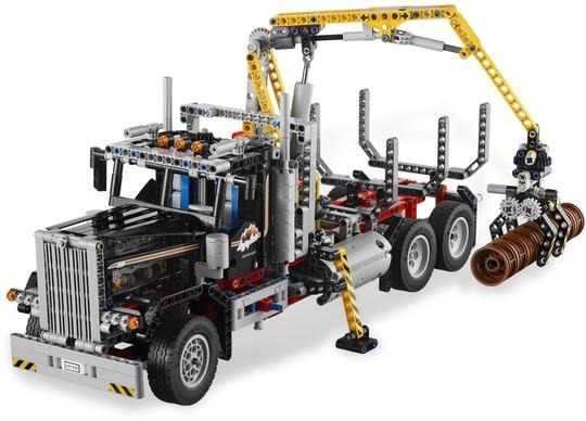 9397 Farönkszállító kamion | Lego Technic
