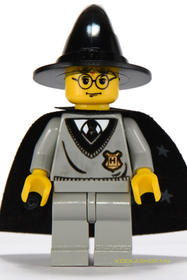 Harry Potter minifigura süveggel
