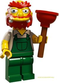 Groundskeeper Willie Simpsons minifigura
