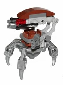 DROIDEKA, FLAT SILVER ARMS MECHANICA
