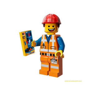 Sisakos Emmet minifigura, 71004 The LEGO Movie