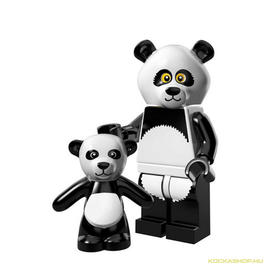 Panda fiú minifigura, 71004 The Lego Movie