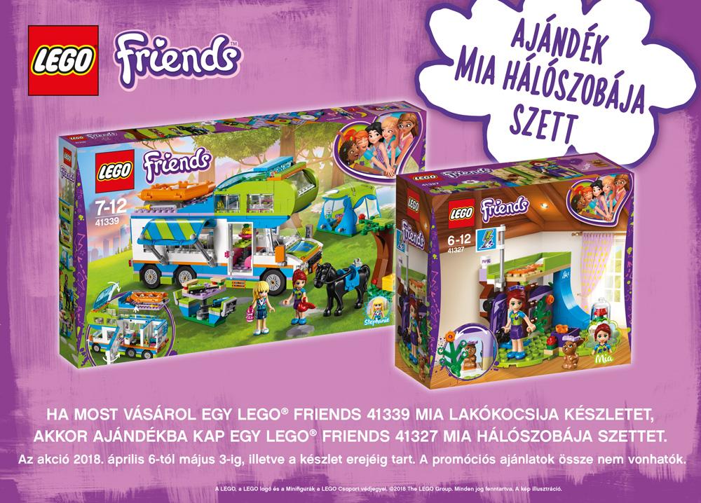 3e343cc6b217 LEGO® Friends ajándék áprilisban   Kockashop