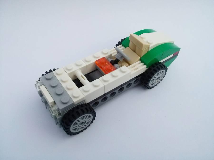 LEGO 31056 Régi versenyautó | Kockashop